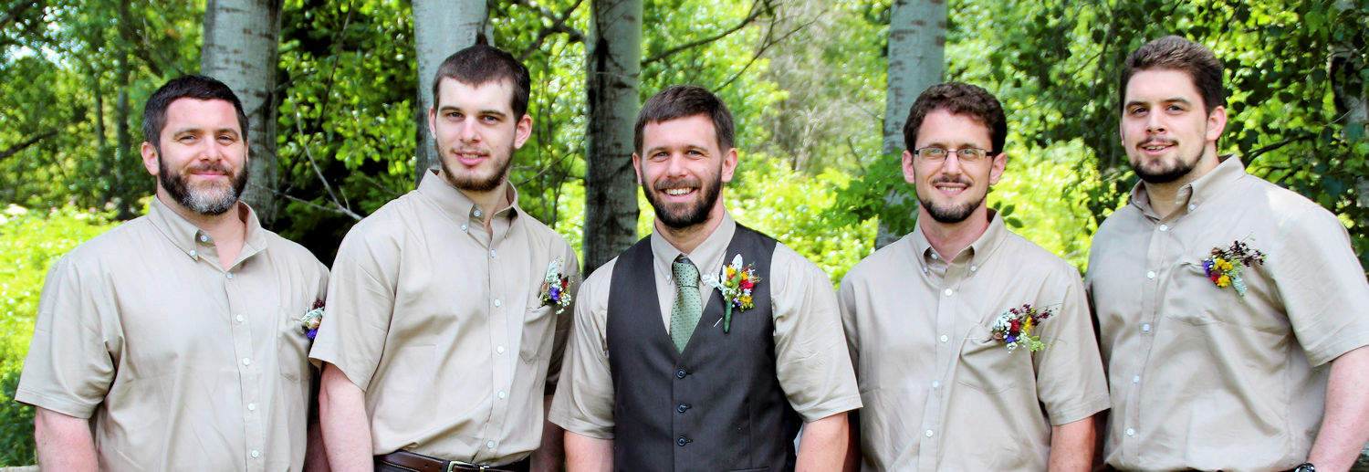 diy wedding flowers groomsmen groom