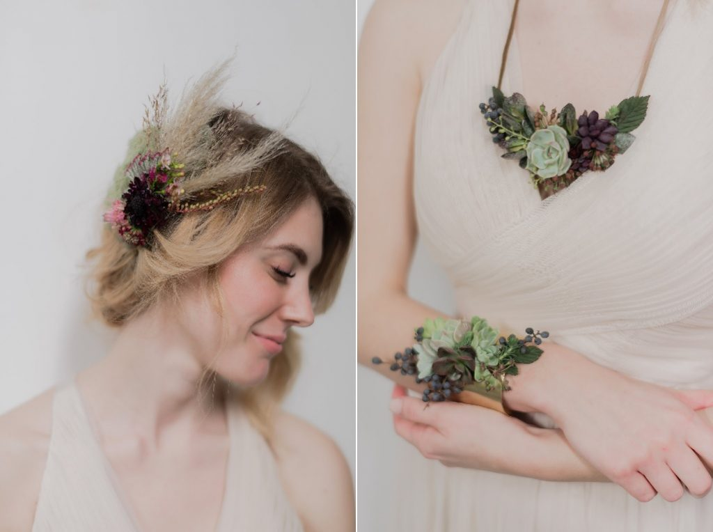 Katie Githens of Clary Sage Design's exquisite accessories