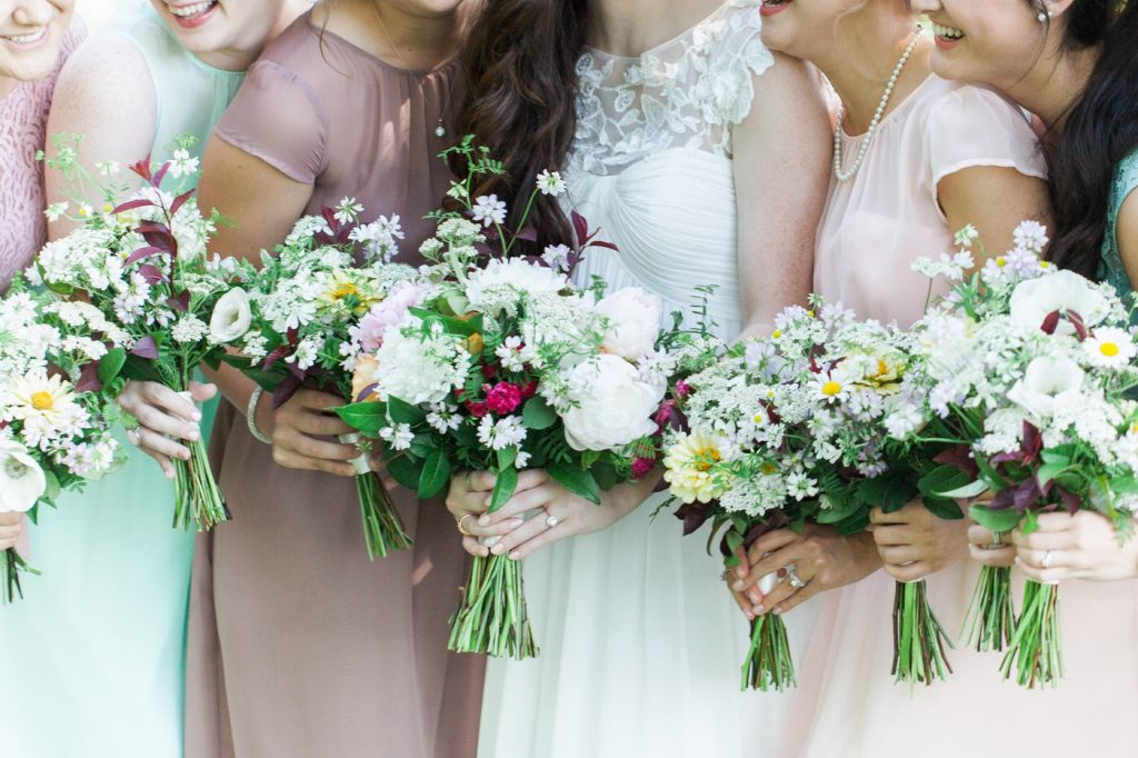 sara brown of meadowview flower farm designs for local brides in kentucky