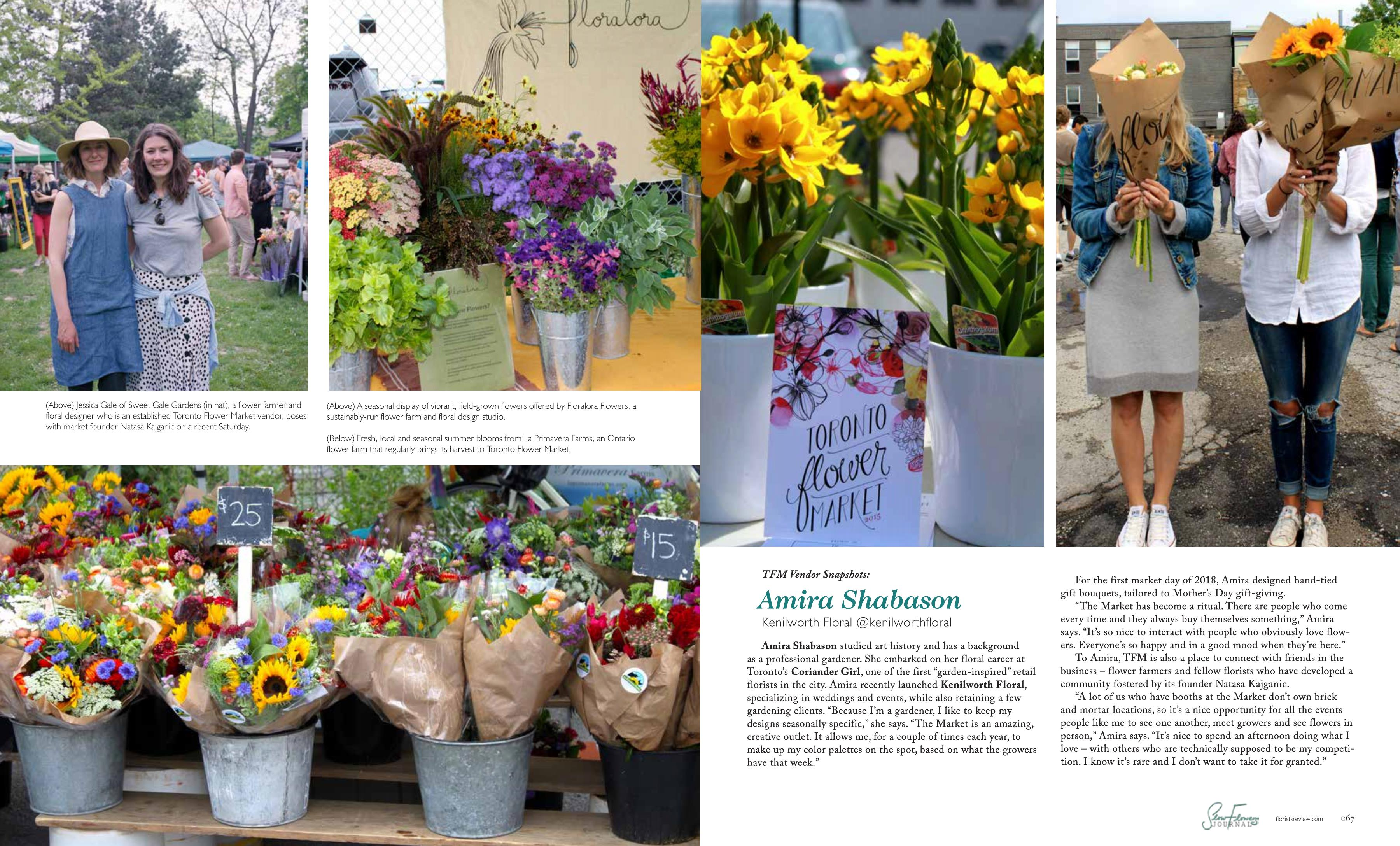 August 2018 slow flowers journal canadas slow flowers movement in the flowering of toronto the toronto flower market thrives as a hub of local flowers agriculture and inspired design izmirmasajfo